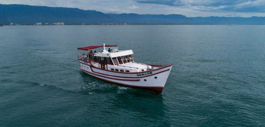 Escuna do Pirata compõe charmedo turismo náutico em Bertioga