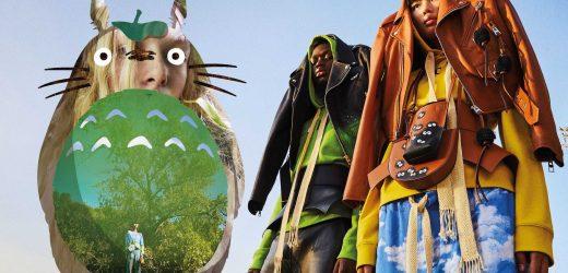 Loewe lança coleção inspirada na animação japonesa 'Meu Amigo Totoro'