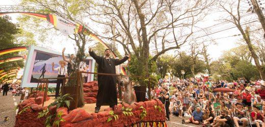 Oktoberfest Digital lembra nesta sexta-feira os tradicionais desfiles de carros alegóricos
