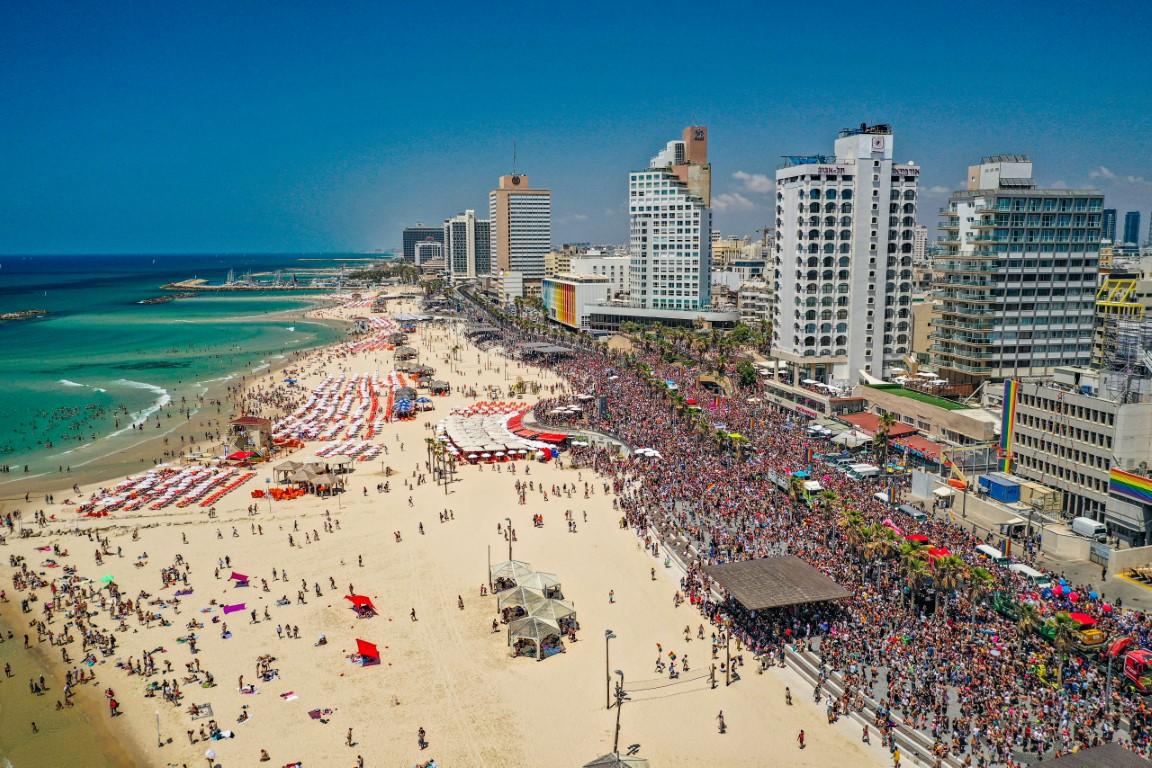 Parada do Orgulho de Tel Aviv acontece em 25 de junho