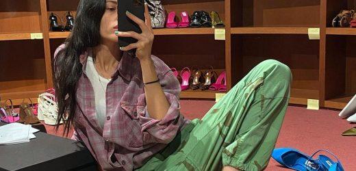 Sapato colorido: acessório divertido do guarda-roupa pós-pandemia