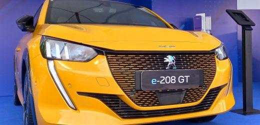 Peugeot e-208 GT é uma das grandes novidades expostas até sábado no Veículo Elétrico Latino-Americano