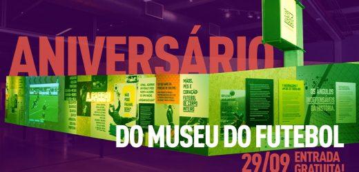 Museu do Futebol faz aniversário em 29 de setembro e oferece entrada grátis para todos os visitantes